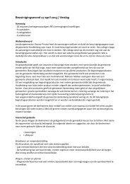 Bezuinigingsavond 17 april 2013   Verslag - Gemeente Hardenberg