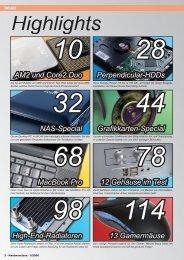 Das Inhaltsverzeichnis der Ausgabe 05-2006 (PDF ... - Hardwareluxx