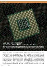 Lust auf Performance? - Hardwareluxx
