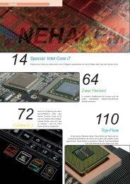 Das Inhaltsverzeichnis der Ausgabe 01-2009 (PDF ... - Hardwareluxx