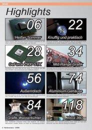 Das Inhaltsverzeichnis der Ausgabe 03-2006 (PDF ... - Hardwareluxx