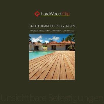 Unsichtbare Befestigungen - HardWood Clip