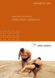 Innovationen & Neuheiten - Ausgabe IV-2009 - Hardy Schmitz Shop