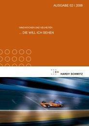 Innovationen & Neuheiten - Ausgabe II-2008 - Hardy Schmitz Shop