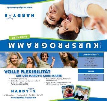 Hardys Augsburg 10 free magazines from hardys freizeit de