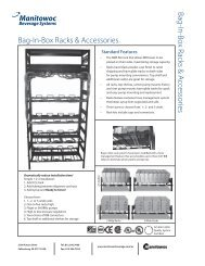 Bag-In-Box Racks & Accessories