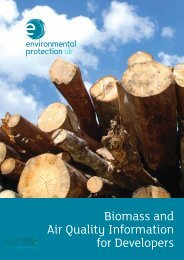 Biomass and Air Quality Information for Developers - Econergy Ltd