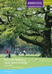 Open Space Executive Summary.pdf - Haringey Council
