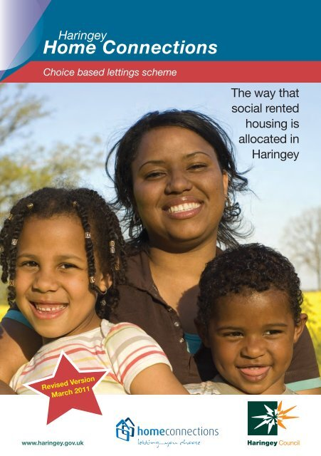 Home Connections Booklet Pdf Haringey Council