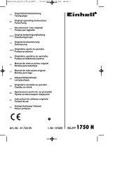 Nr.: 01029 BG-PP 1750 N