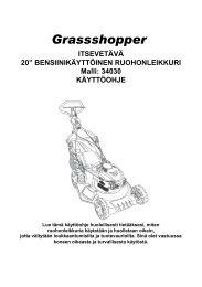 Käyttöohje 34030 FI S.pdf - Kauppahuone Harju Oy