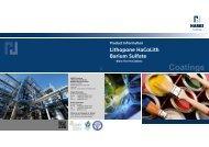 Lithopone HaCoLith / Barium Sulfate