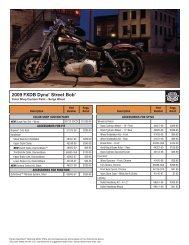 2009 FXDB Dyna® Street Bob® - Harley-Davidson