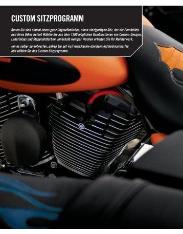 CUSTOM SITZPROGRAMM - Harley Davidson Shop