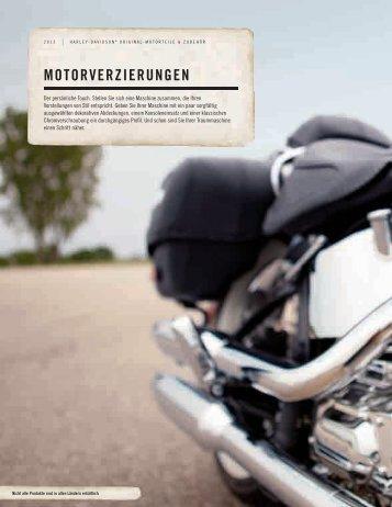 MOTORVERZIERUNGEN - Harley-Davidson Erfurt