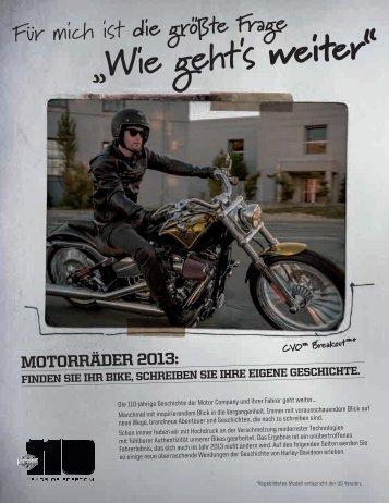 """""""Wie geht's weiter"""" - Harley-Davidson Erfurt"""