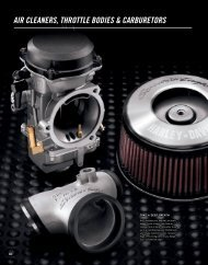 AIR CLEAnERS, thRottLE boDIES ... - Harley-Davidson