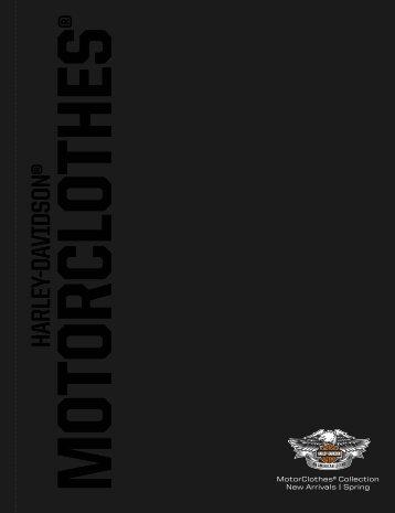 Spring MotorClothes Catalogue - Harley-Davidson