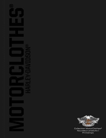 Sur la nouvelle collection MotorClothes - Harley-Davidson