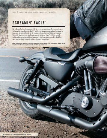 SCREAMIN' EAGLE® - Harley-Davidson Erfurt