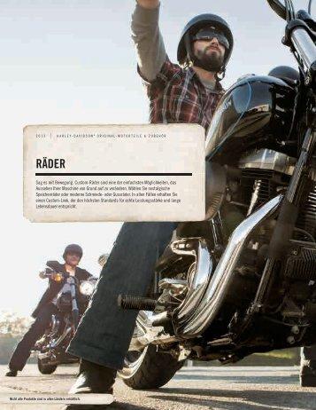 RÄDER - Harley-Davidson Erfurt