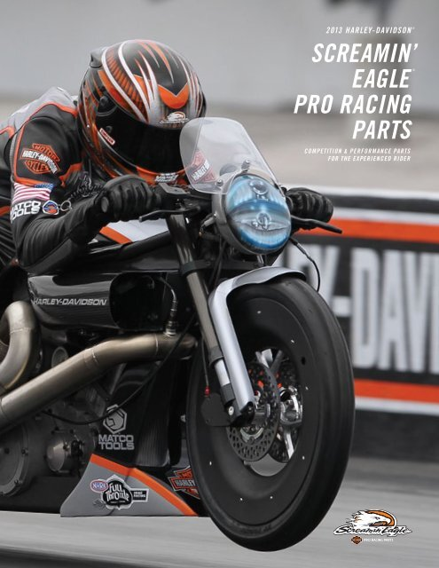 SCREAMIN' PRO RACING PARTS EAGLE® - Harley-Davidson
