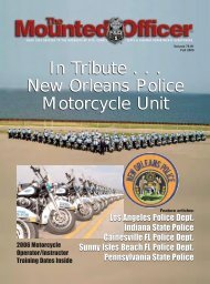 In Tribute . . . New Orleans Police Motorcycle Unit ... - Harley-Davidson