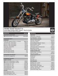 SCREAMIN' PRO RACING PARTS EAGLE® - Harley-Davidson