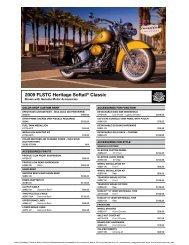 2009 FLSTC Heritage Softail® Classic - Harley-Davidson