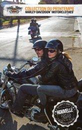 COLLECTION DU PRINTEMPS - Harley-Davidson