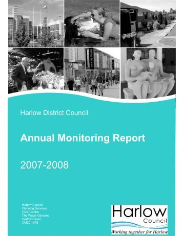 Annual Monitoring Report 2007-2008 - Harlow Council