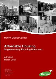 Affordable Housing Supplementary Planning ... - Harlow Council