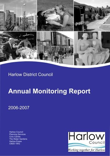 Annual Monitoring Report 2006-2007 - Harlow Council
