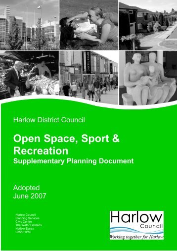 Supplementary Planning Document - Harlow Council