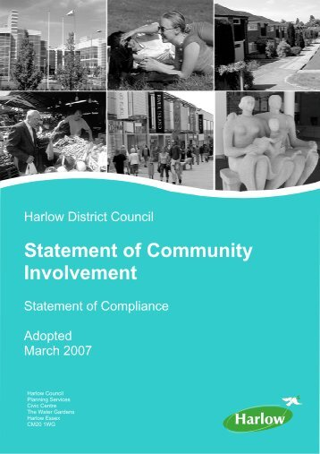 Statement of Compliance March 2007 - Harlow Council