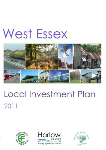 West Essex Local Investment Plan - Harlow Council