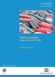 Parking Standards 2009 - Essex County Council