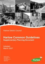 Harlow Common Guidelines SPD - Harlow Council