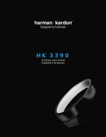 HK 3390 - Harman Kardon