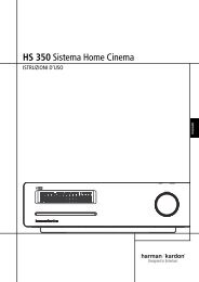 HS 350 Sistema Home Cinema - Harman Kardon