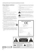 Viktiga säkerhets Instruktioner - Harman Kardon - Page 2