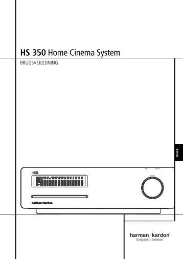 HS 350 Home Cinema System - Harman Kardon