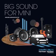 BIG SOUND FOR MINI - Harman Kardon