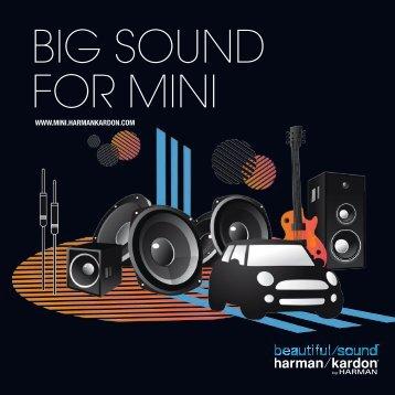 BIG SOUND FOR MINI - Harman Kardon