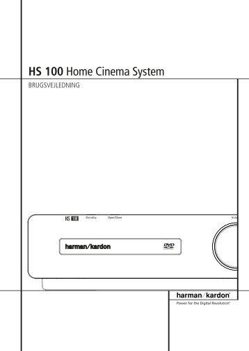 HS 100 Home Cinema System - Harman Kardon