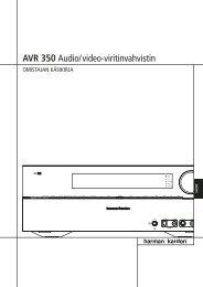 AVR 350 Audio/video-viritinvahvistin - Harman Kardon