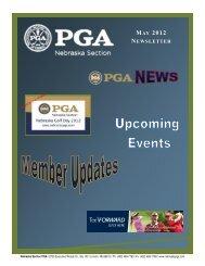 MAY 2012 NEWSLETTER - Nebraska PGA