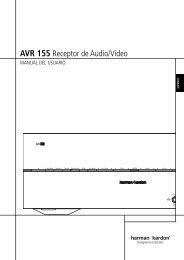 0272CSK-04 HK AVR 155 OM ESv2.qxp ... - Harman Kardon