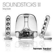 SOUNDSTICKS® III - Harman Kardon