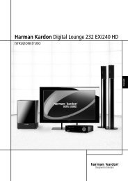 Harman Kardon Digital Lounge 232 EX/240 HD